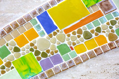 Background of mosaic color Royalty Free Stock Images