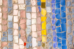 Background from mosaic Royalty Free Stock Image