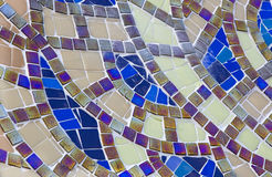 Background from mosaic Royalty Free Stock Photo