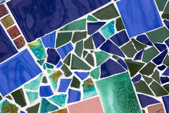 Background from mosaic Royalty Free Stock Photos
