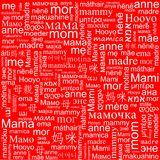 Background on Mother's Day Royalty Free Stock Photography