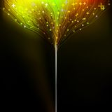 Background motion blurred neon light. EPS 10 Stock Photography