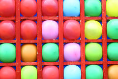 Background of motley balloons Stock Photos