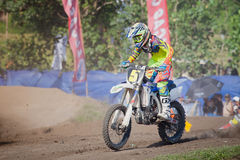 Background of motocross in Bali Royalty Free Stock Photos