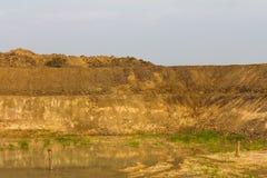 Background mound coast. Royalty Free Stock Photography