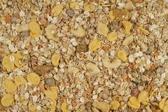 Background of muesli Stock Photo