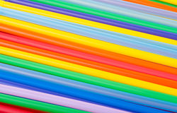 Background of  Cocktail Straws Royalty Free Stock Photos