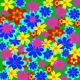 Background from multi-colored flower Royalty Free Stock Photo