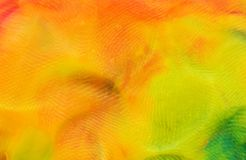 Background of multi-colored plasticine, macro photography, background royalty free stock images