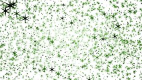 Background of multi-colored stars. Colorful different stars. Background from different sizes of stars of different shades of the same color. Aesthetic colorful royalty free illustration
