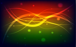 Background. Multi colour abstract background with dots , stars and strings Royalty Free Stock Photography