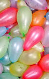 Background of Multi colour water balloons. Balloons filled with water for celebration of Holi festival in India Royalty Free Stock Image