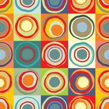 Background with multicolored circles Royalty Free Stock Photo
