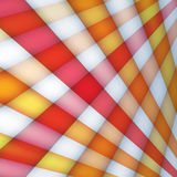Background with multicolored crossed rays Stock Image