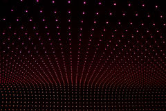 Background with multicolored LEDs in perspective Royalty Free Stock Photo