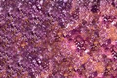 Background of multicolored stains and patterns with blur royalty free stock photography