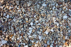 Background, multicolored stones Stock Image