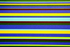 Multicolored stripes Stock Photography