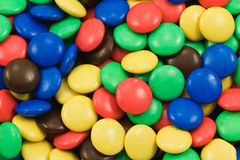 background of multicolored sweets Royalty Free Stock Photos
