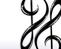 Background Music Royalty Free Stock Photo
