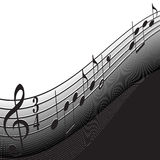 Background Music vector illustration