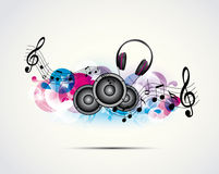 Background music Royalty Free Stock Photo