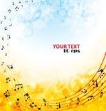 Background music Stock Image