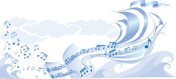 Background music Royalty Free Stock Photos