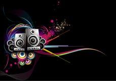 Background Music Illustration Stock Photography