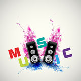 Background music Stock Photography
