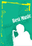 background music vector Royalty Free Stock Image