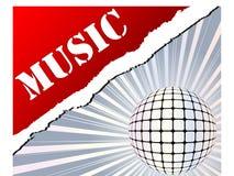 background musical Στοκ εικόνα με δικαίωμα ελεύθερης χρήσης