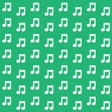 Background of the musical notes, Vector EPS10. Royalty Free Stock Image