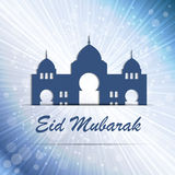 Background for Muslim Community Festival Vector Royalty Free Stock Photos