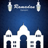 Background for Muslim Community Festival Vector Royalty Free Stock Photography