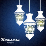 Background for Muslim Community Festival Vector Stock Photo