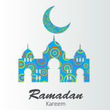 Background for Muslim Community Festival Vector Royalty Free Stock Images
