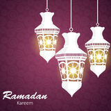 Background for Muslim Community Festival Vector Stock Photos