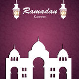 Background for Muslim Community Festival Vector Stock Photography