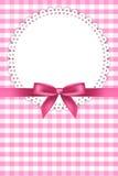 Background with napkin royalty free illustration