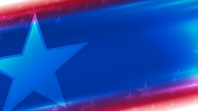 Background in national colors of America Stock Photos