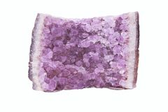 Background of natural amethyst Stock Photos