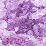 Background of natural amethyst Royalty Free Stock Image