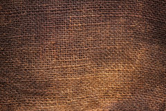 Background of Natural burlap Royalty Free Stock Photos