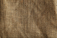 Background of a natural burlap Royalty Free Stock Images
