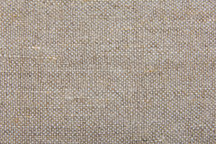 Background of natural burlap Stock Image