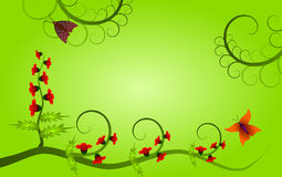 Background with natural motives Stock Image