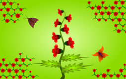 Background with natural motives Royalty Free Stock Images