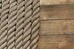 Background of natural ropes. Stock Image