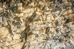 Background. Natural stone wall in the mountains of Vercors stock image